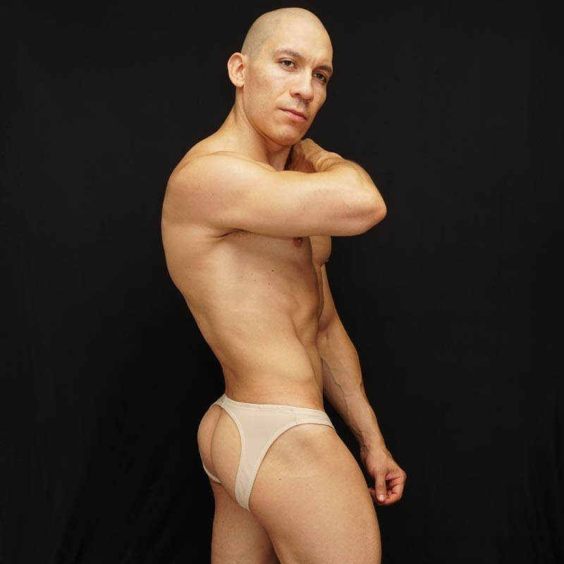backless men bikini by Arroyman
