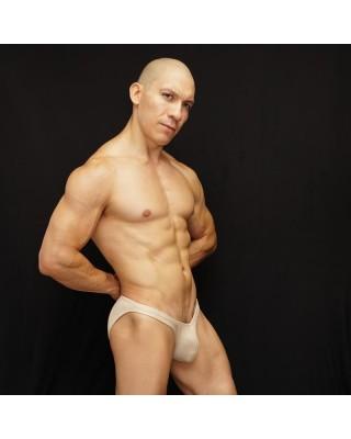 bikini hombre con los gluteos al desnudo