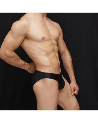 men swimsuit black color