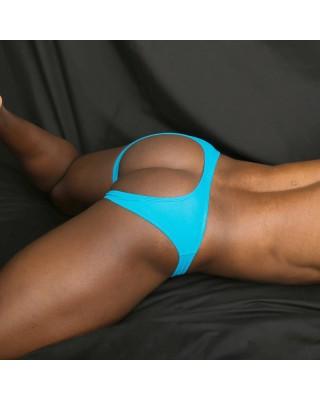 bikini hombre sin trasero color turquesa