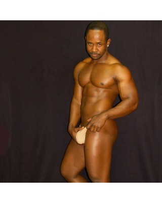 men g-string thong nude color