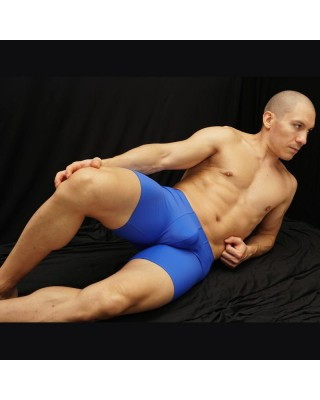 men biker short with bulge space