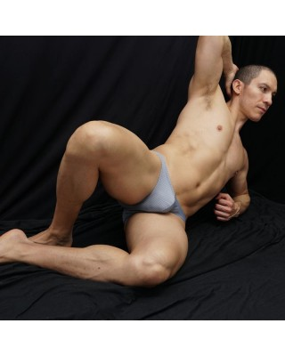 bikini slip  para hombre diseño cuadritos